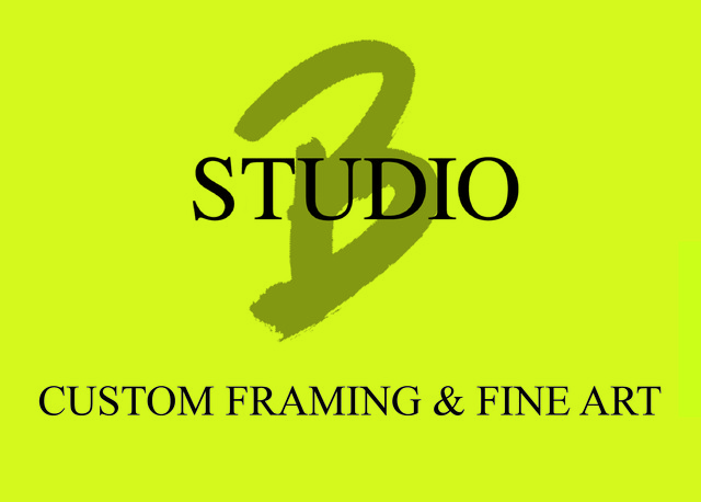 Studio B Custom Framing & Fine Art Logo