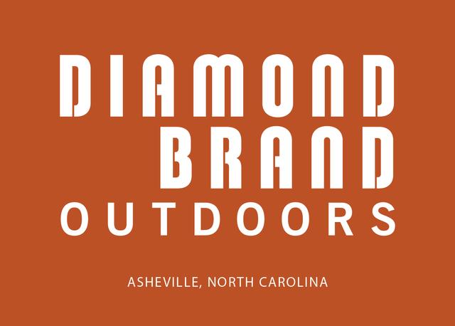 Diamond Brand Outdoors in Downtown Asheville Logo