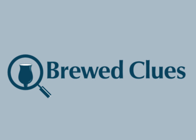Brewed Clues Asheville logo