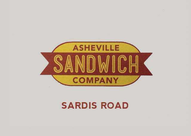 Asheville Sandwich Company - Sardis Rd. Logo