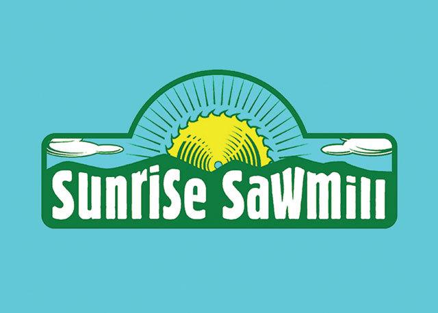 Sunrise Sawmill Logo