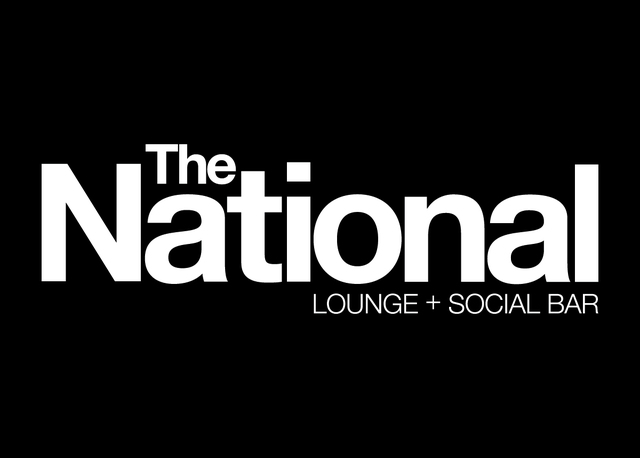 The National Lounge + Social Bar Logo